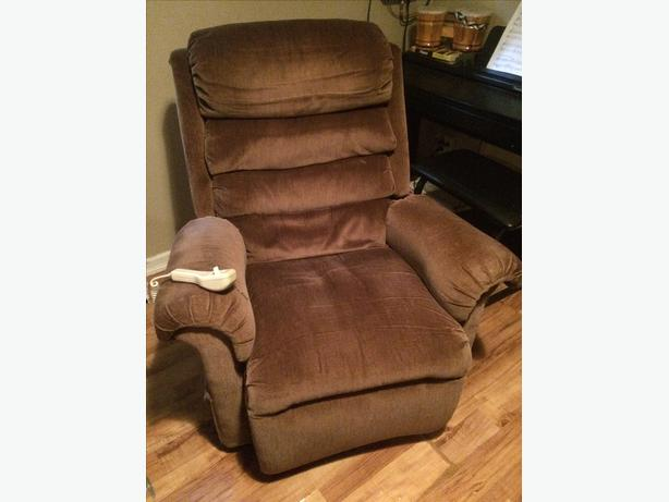 Comfy power recliner