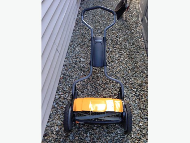 Fiskars reel (push) mower