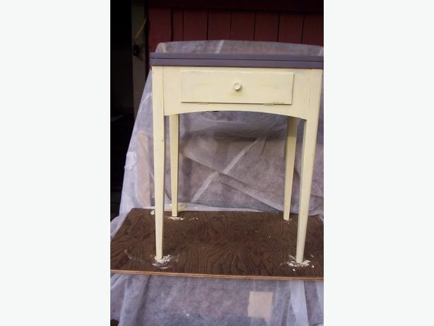 Old Sewing Machine Desk ? Table ?