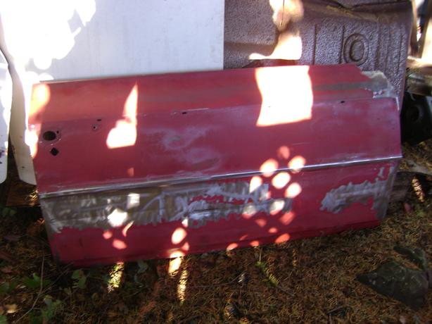 Right and left doors for a 66-67 chevy ll