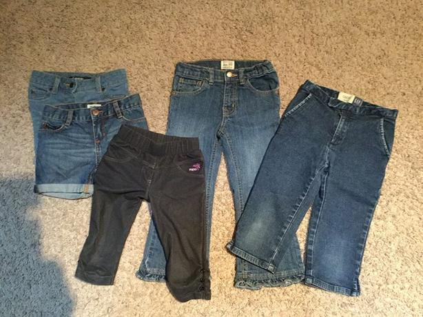 Girl's Jean Lot size 5/6