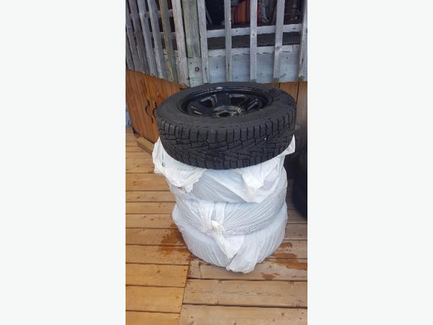 Dodge winter tire package