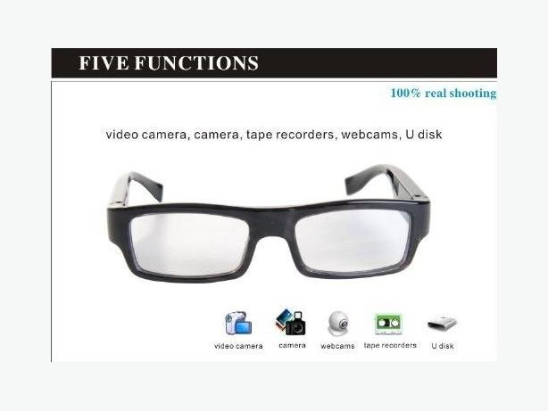 Brand New 8GB HD 720P Spy Camera Glasses DVR Mini DV Video Recorder Eyeware