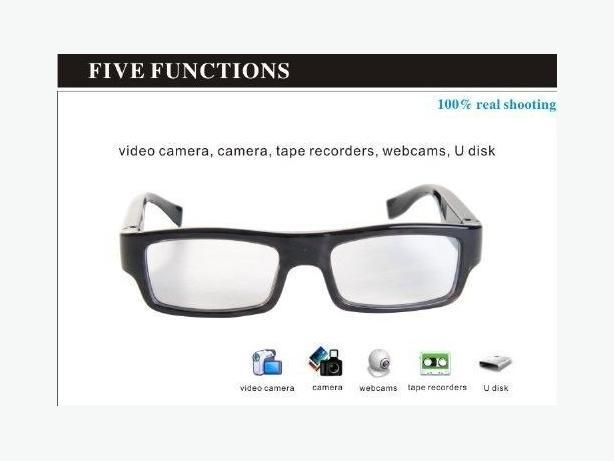 Brand New 8GB HD 720P Spy Camera Glasses DVR Mini DV Video Recorder Eyeware