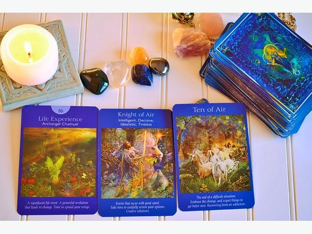 Need answers? Try an Angel Card Reading  www.inspiretarot.com