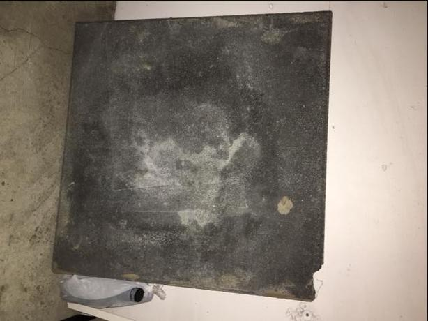 FREE: 2ft x 2ft grey paving stone