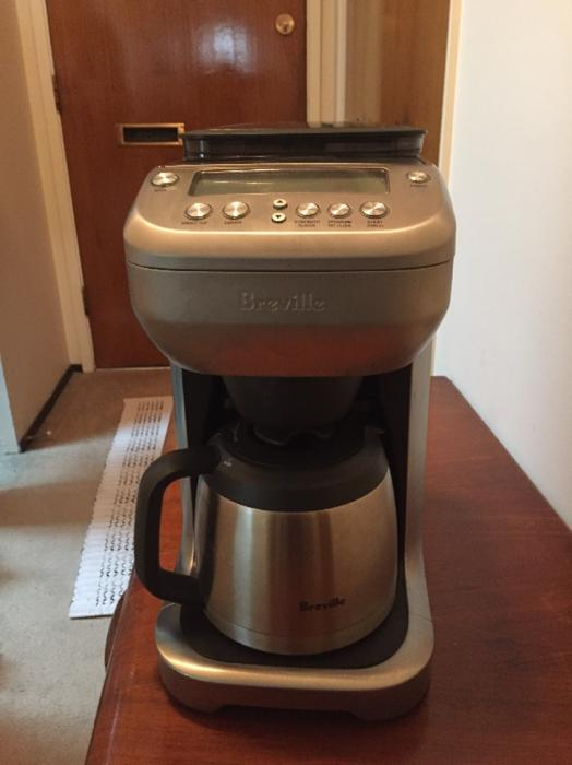 Crofton Coffee Maker With Grinder Instructions : Breville auto coffee grinder coffee maker Victoria City, Victoria