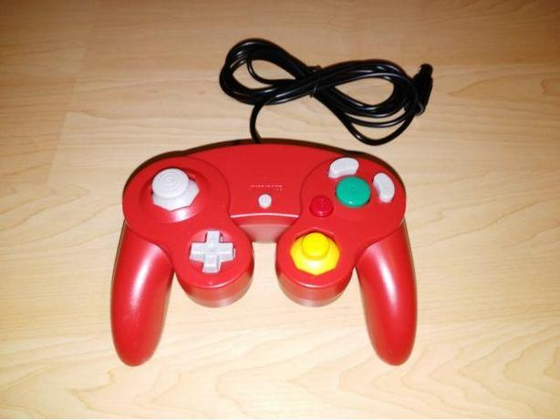 NEW Red Nintendo Gamecube Controller