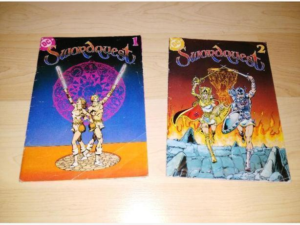 Atari Swordquest Comics #1 & #2