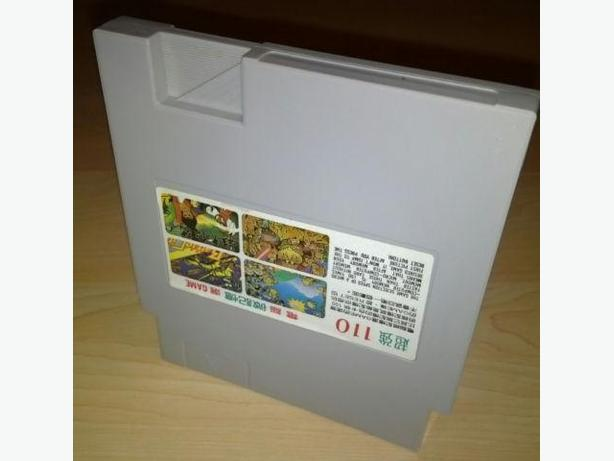Hard To Find 110 in 1 Multi Cart For The Nintendo (NES) - AS-IS