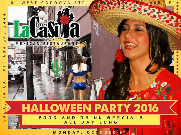 Crazy Halloween Party in Gastown Vancouver BC