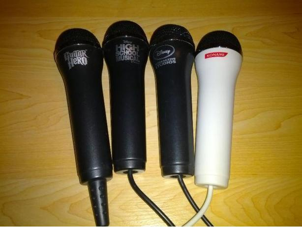 Various Nintendo Wii Microphones - Guitar Hero - Rock Band Etc