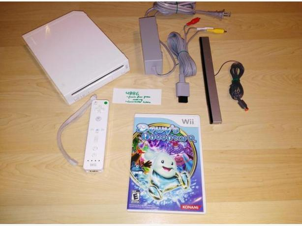 Nintendo Wii System With Controller & $15 Towards Games