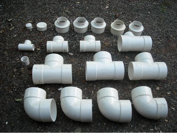 PLUMBING -PVC ASSORTED CONNECTORS