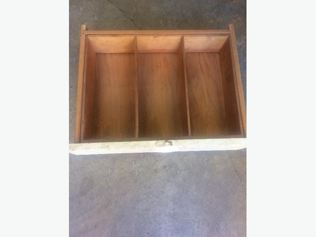 wood drawer vintage