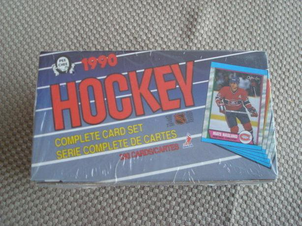 Mint, unpacked, O-Pee-Chee NHL Hockey Cards from 1990!
