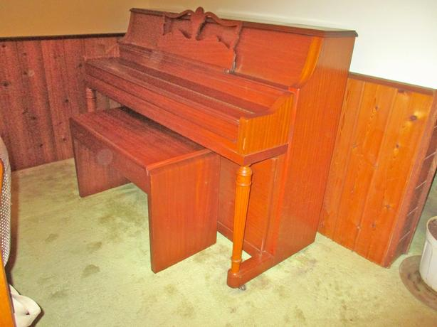 RARE OPPORTUNITY - KNIGHT UK VERTICLE GRAND PIANO