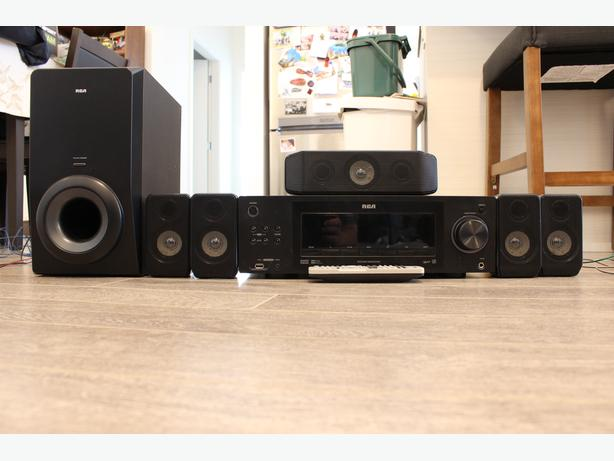 RCA 5.1 Home Theatre System - 1,000 watts