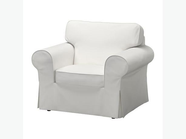 NEW Ektorp Armchair Cover - White
