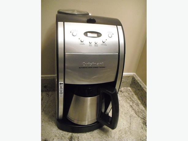 Cuisinart Grind & Brew Thermal 10-Cup Automatic Programmable Coffeemaker