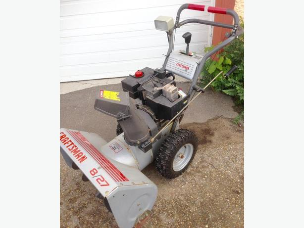 Craftsman 8 HP Snowblower