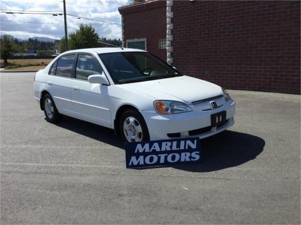 2003 Honda Civic Hybrid Sedan with CVT