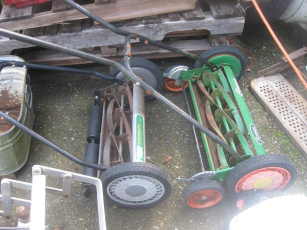 Push lawn mowers - reduced  $20  each