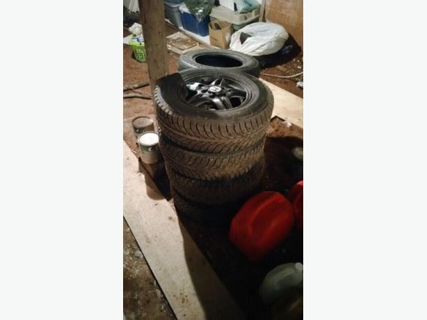 205/75 R15 Winter tires & rims for sale
