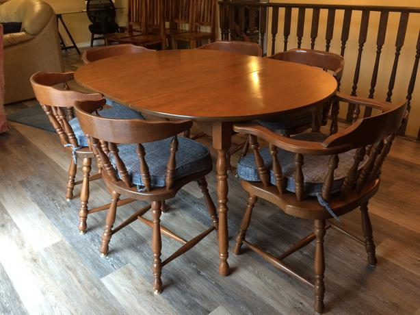 Quality dining room table and chairs