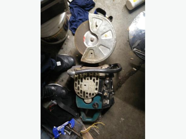 "makita 12"" gas powered chop saw"