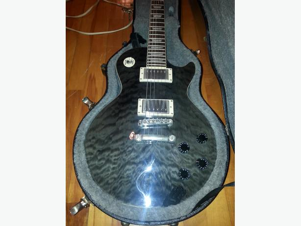 Epiphone Les Paul Standard with hardcase sell / trade