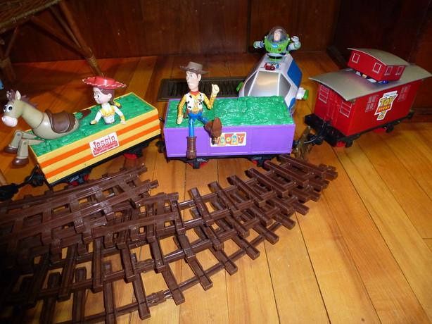Toy Story train set