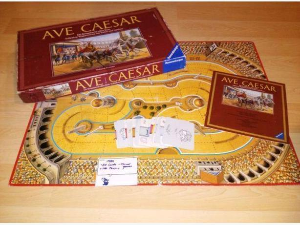 1989 Ravensburger Ave Caesar Board Game