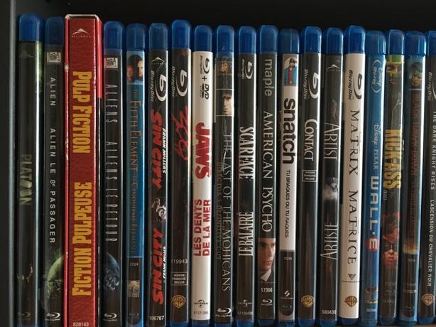 Blue-rays (x 34 movies)