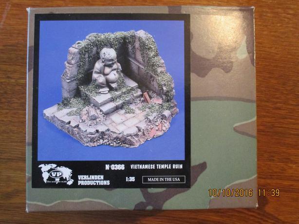 Verlinden #0366 Vietmanese Temple Ruin