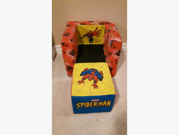 spiderman chair