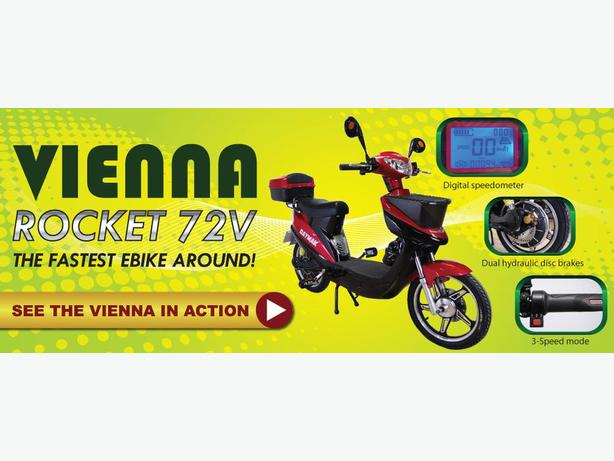 GET THE ALL NEW TECHNOLOGY IN THE VIENNA SCOOTERS.