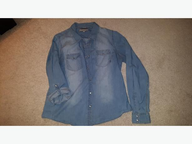 Womens jean shirt