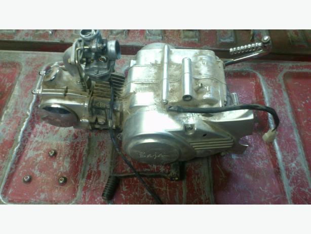 Baja 50cc 3 speed Semi Automatic Kick Start Motor