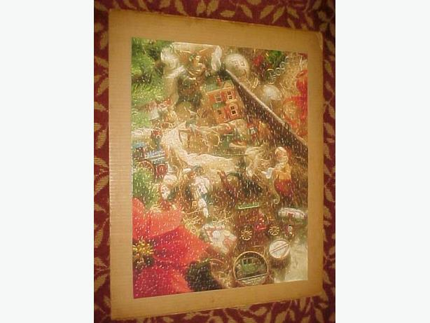 SPRINGBOK KEEPSAKE ORNAMENTS CHRISTMAS PUZZLE
