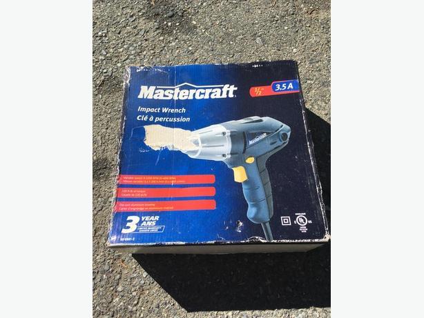 Mastercraft impact wrench