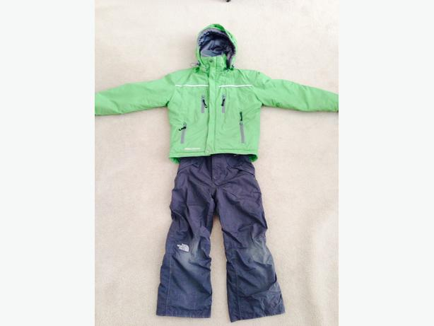 Avalanche Winter Coat and North Face Snow pants