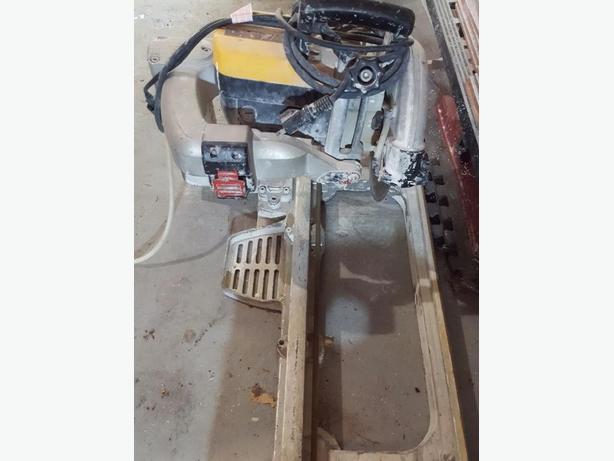 dewalt wet saw