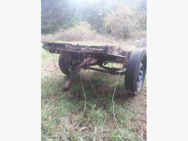 FREE: old trailer