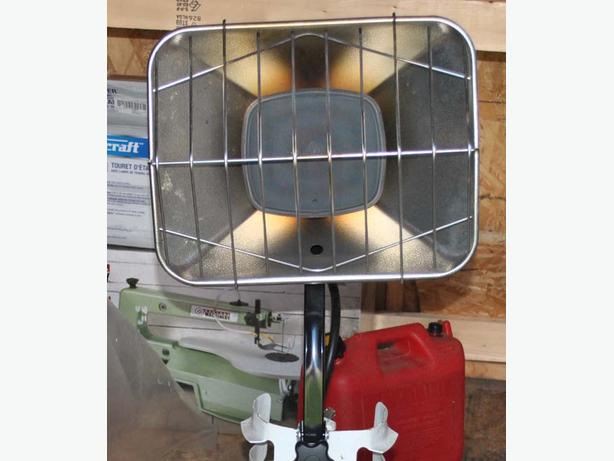 45,000 BTU Coleman Powermate top tank propane heater
