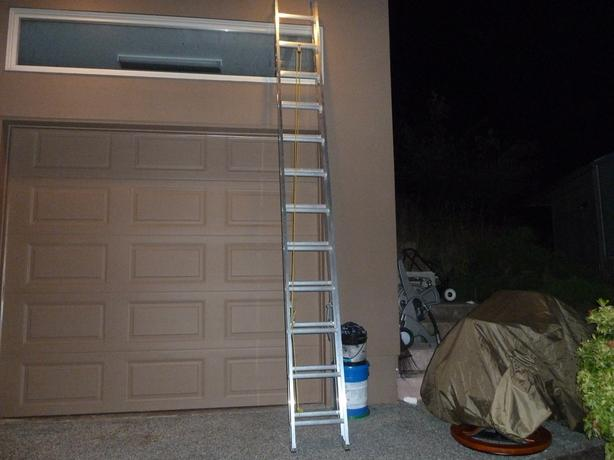 Two  Extension Ladders  24' and 20'
