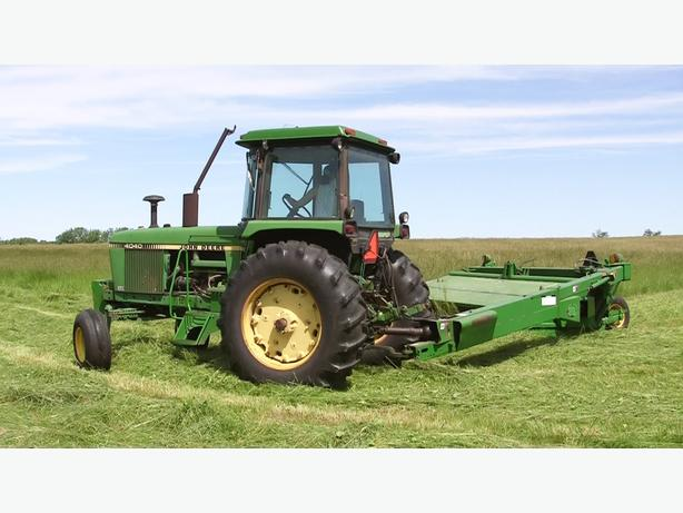 WANTED: Person with tractor and equipment for hay feild maintenance