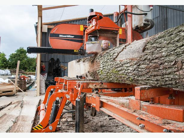 Business opportunity for some one with portable sawmill