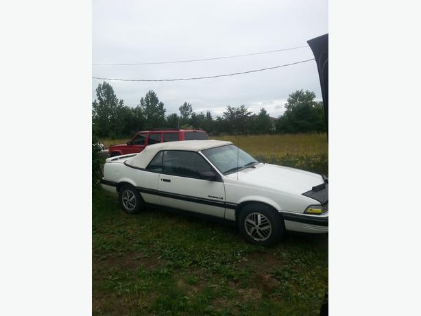 1990 PONTIAC SUNBIRD CONVERTABLE-800 FIRM