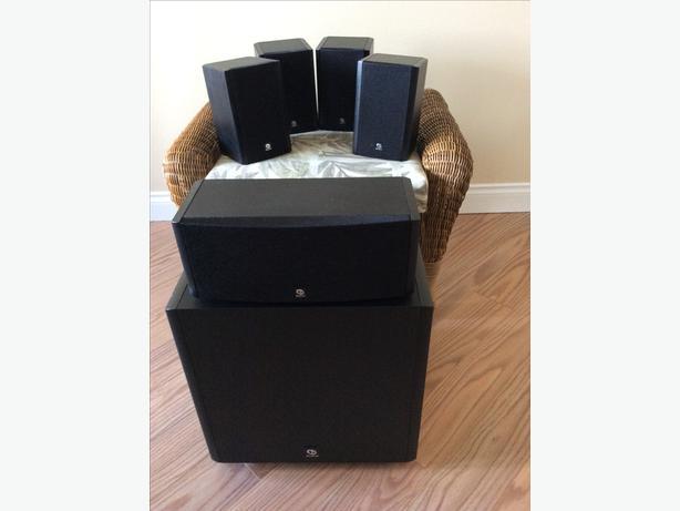 Boston Acoustics surround sound system